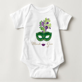 Mardi Gras 18.2 Baby Bodysuit
