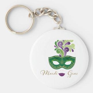 Mardi Gras 18.2 Key Ring
