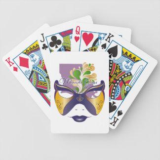 Mardi Gras 18.3 Bicycle Playing Cards