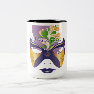 Mardi Gras 18.3 Two-Tone Coffee Mug