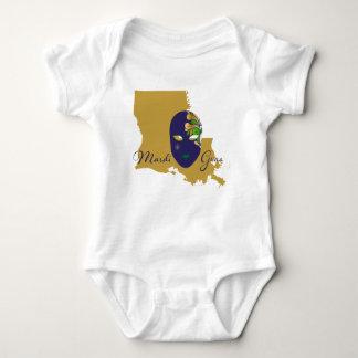 Mardi Gras 18.4 Baby Bodysuit