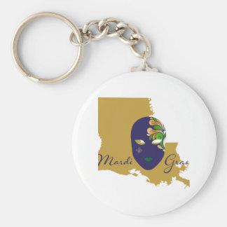 Mardi Gras 18.4 Key Ring