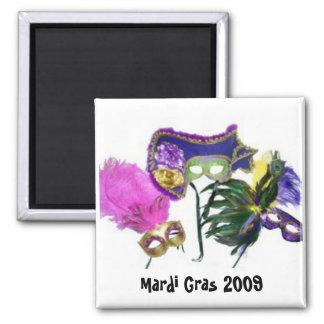 Mardi Gras 2009 Magnets