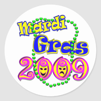Mardi Gras 2009 Sticker