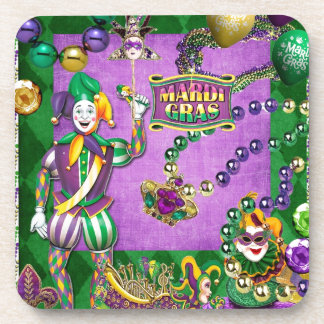 Mardi Gras 2014 Set of 6 Coaster