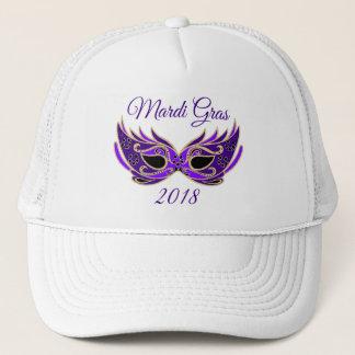 Mardi Gras 2018 Mask Trucker Hat