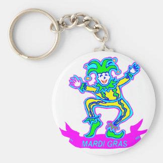 Mardi Gras 2 Key Ring