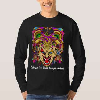 Mardi Gras All Styles MEN Dark View Hints Plse T-Shirt