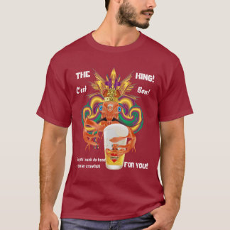 Mardi Gras All Styles Men English DARK View Hints T-Shirt