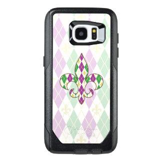 Mardi Gras Argyle Otterbox Phone Case