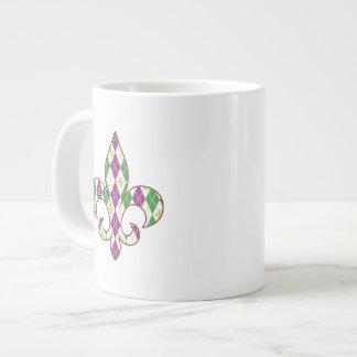 Mardi Gras Argyle Specialty Mug
