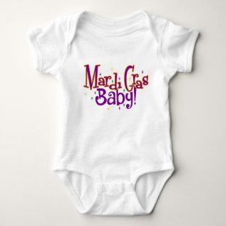 Mardi Gras Baby Baby Bodysuit