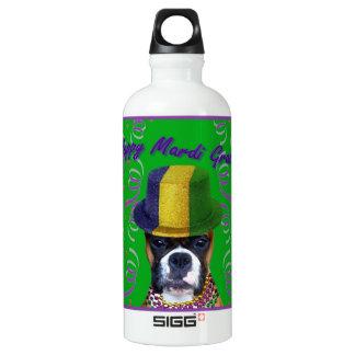Mardi Gras Boxer Dog SIGG Traveller 0.6L Water Bottle