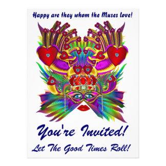 Mardi Gras Carnival Event Please View Notes Invites