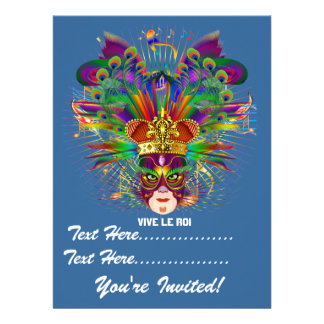 Mardi Gras Carnival Event Please View Notes Invitation