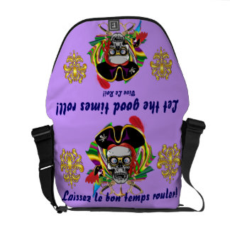 Mardi Gras Carnival Event  Please View Notes Messenger Bag