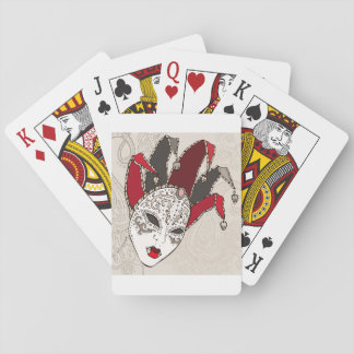 Mardi Gras Carnival Mask Playing Cards