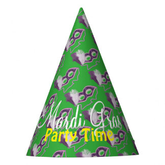 Mardi Gras Celebrations Fancy Mask Party Party Hat