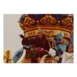 Mardi Gras Celebrity Queen Float Poster