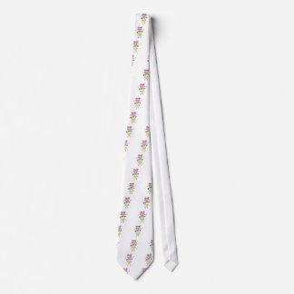 mardi gras  chibi with parade beads tie