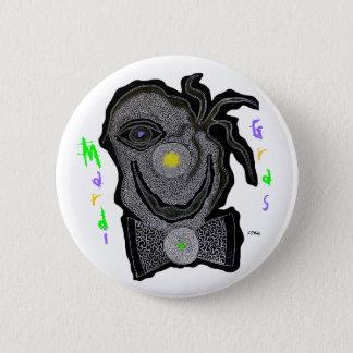MaRdI gRaS cLoWn 6 Cm Round Badge