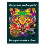 Mardi Gras Clown View Notes please