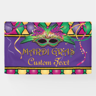 Mardi Gras, Custom Party Banner