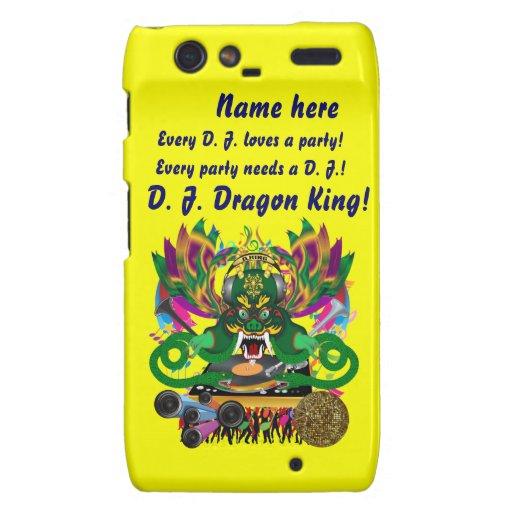 Mardi Gras D. J. Dragon King View Hints please Droid RAZR Case