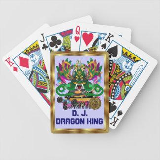 Mardi Gras D. J. Dragon King View notes please Bicycle Poker Deck