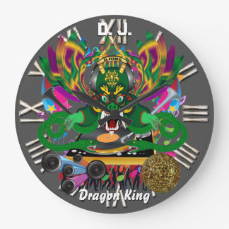 Mardi Gras D. J. Dragon King View notes please Clocks