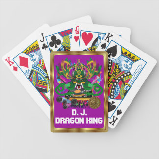 Mardi Gras D. J. Dragon King View notes please Bicycle Poker Cards