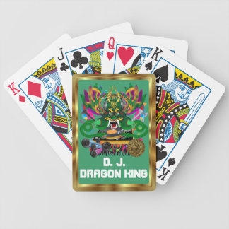 Mardi Gras D. J. Dragon King View notes please Poker Cards