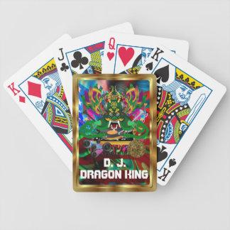 Mardi Gras D. J. Dragon King View notes please Poker Deck