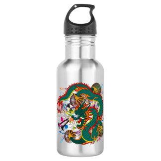 Mardi Gras Dragon Dark Text 532 Ml Water Bottle