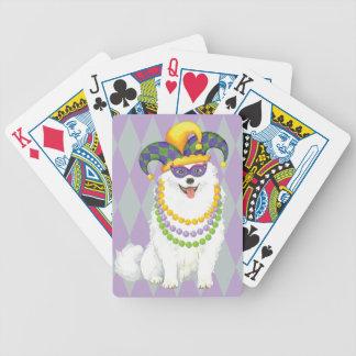Mardi Gras Eskie Bicycle Playing Cards