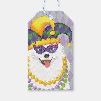 Mardi Gras Eskie Gift Tags