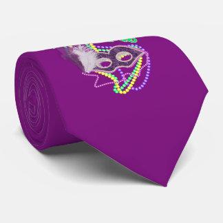 Mardi Gras Fat Tuesday 2017 Celebration Costume Tie