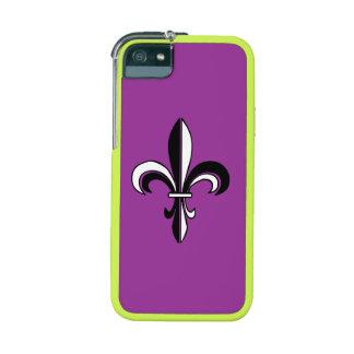 Mardi Gras Fleur De Lis Case For iPhone 5/5S