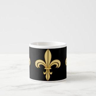 Mardi Gras Fleur De Lis Espresso Mug