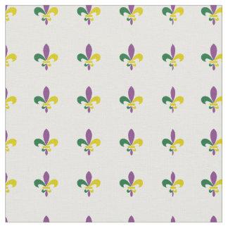 Mardi Gras Fleur De lis Fabric