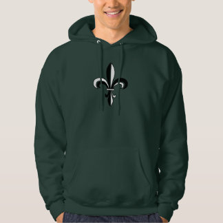 Mardi Gras Fleur De Lis Hooded Sweatshirt