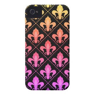 Mardi Gras Fleur De Lis iPhone 4 Case