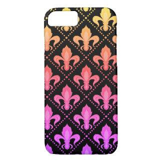 Mardi Gras Fleur De Lis iPhone 8/7 Case