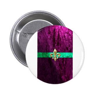 Mardi Gras Fleur De Lis New Orleans Pin