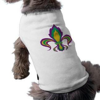 Mardi Gras Fleur De Lis Shirt