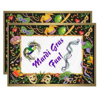 Mardi Gras Fun Card