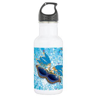 Mardi Gras glasses 532 Ml Water Bottle