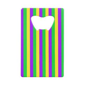 Mardi Gras Green, Yellow, Purple Striped