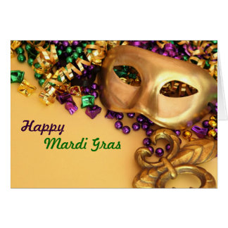 Mardi Gras Greeting Cards