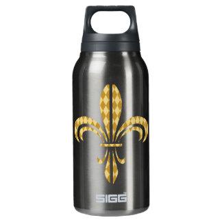 Mardi Gras Harlequin Fleur De Lis 0.3L Insulated SIGG Thermos Water Bottle